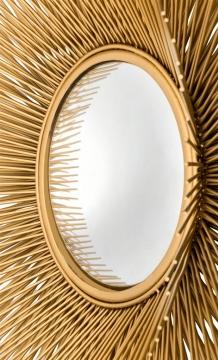 Spegel Solaris Guld L 3