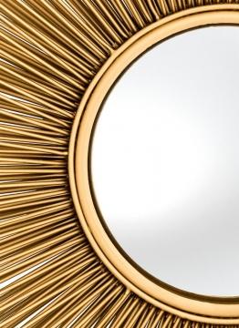 Spegel Solaris Guld L 5