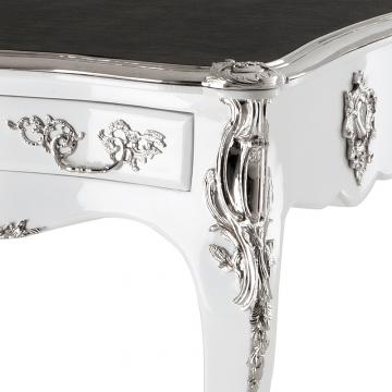 Skrivbord Lodewijk XV piano white 2