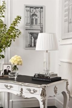 Skrivbord Lodewijk XV piano white 3