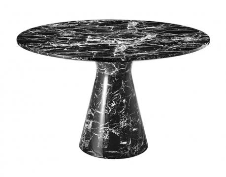 Matbord Turner black faux marble 1