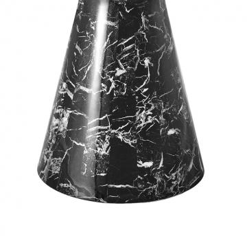 Matbord Turner black faux marble 2