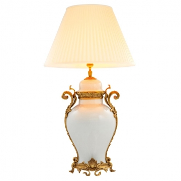 Bordslampa Armand cream 1