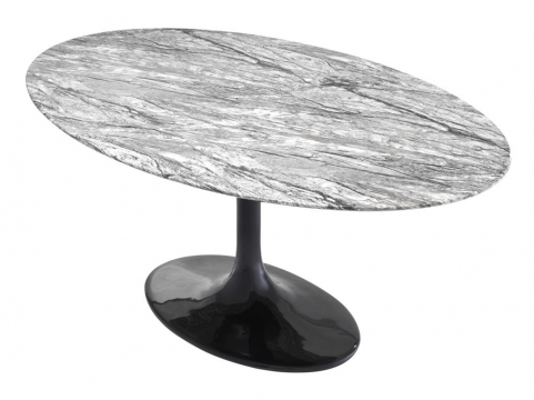 Matbord Solo grey faux marble 2