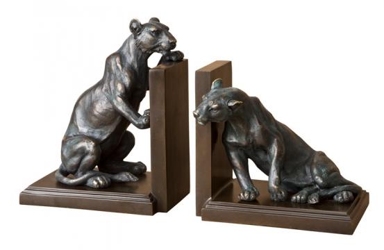 Bokstöd Lioness set of 2 1
