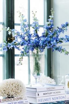 Delphinium snittblomma blå 90cm 1