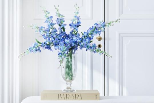 Delphinium snittblomma blå 90cm 4