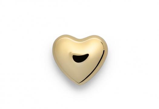 Hjärta mässing liten 1