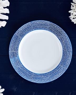 Capri Azzurra serveringsfat blå/vit 1