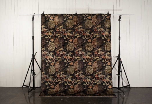 Orient Paradis matta svart 250x350 cm 1