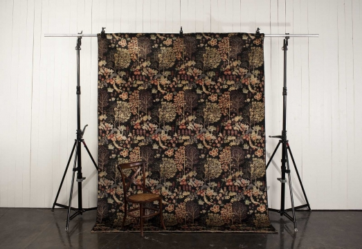 Orient Paradis matta svart 250x350 cm 4