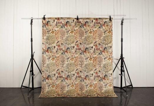Orient Paradis matta vit 140x200 cm 1