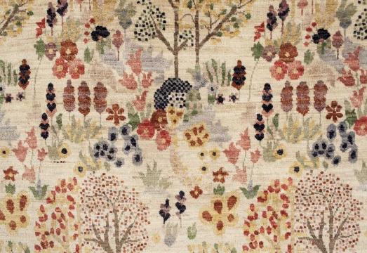 Orient Paradis matta vit 140x200 cm 4