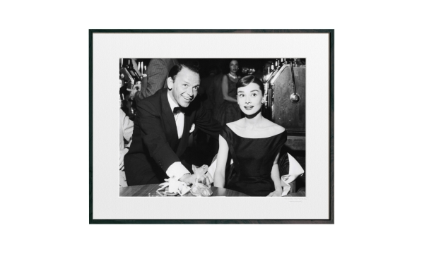 Tavla Audrey Hepburn Frank Sinatra mellan 1