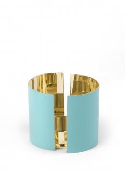 616-a infinity candleholder, large, azure 1 h10