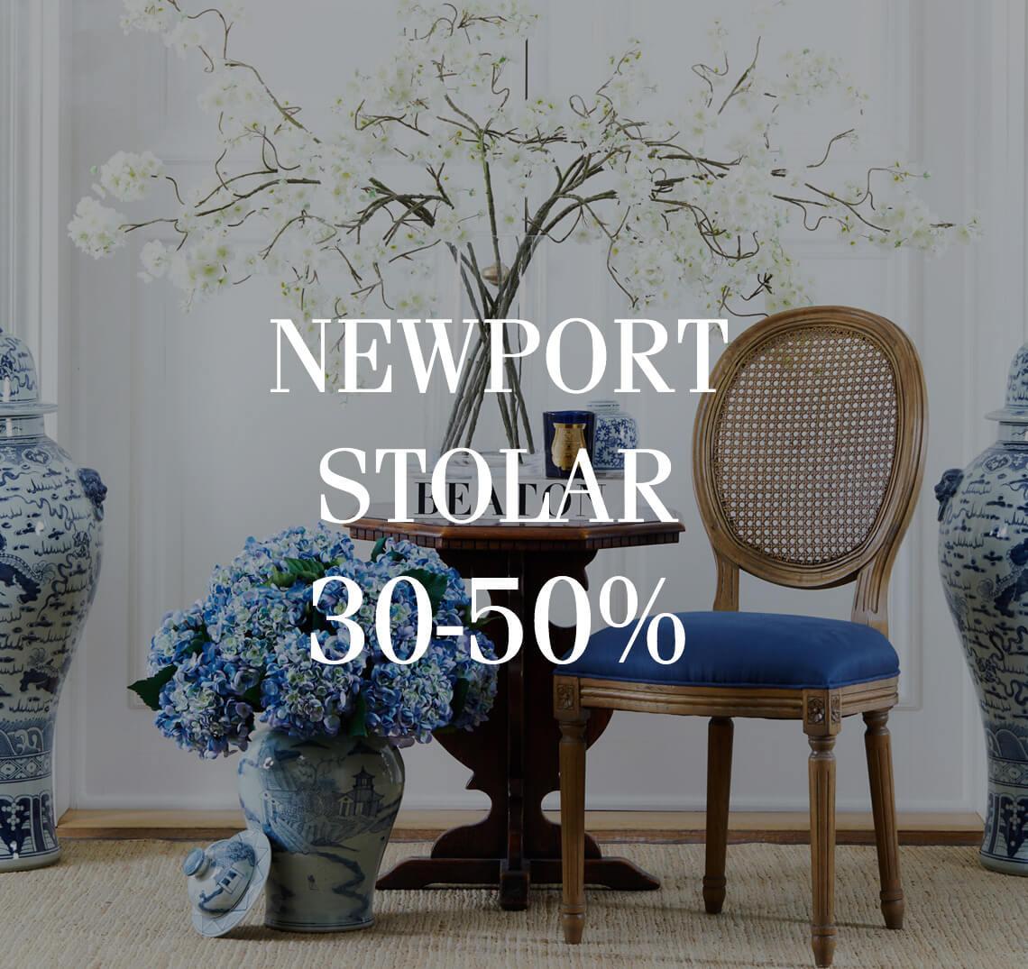 Newport stolar-text