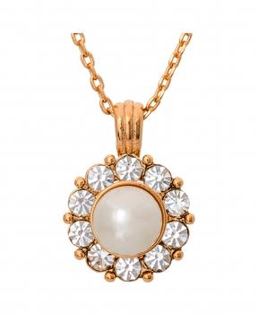 Sofia Pearl halsband ivory 1
