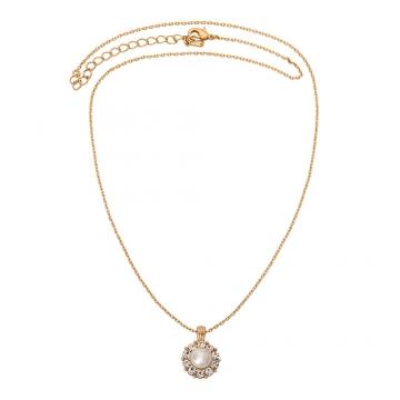 Sofia Pearl halsband ivory 2