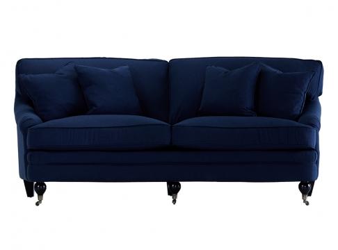 Newport howardsoffa indigo blå 205cm 1