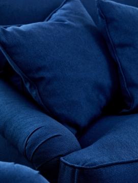 Newport howardsoffa indigo blå 205cm 5