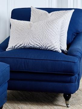 Newport howardfåtölj indigo blå 3