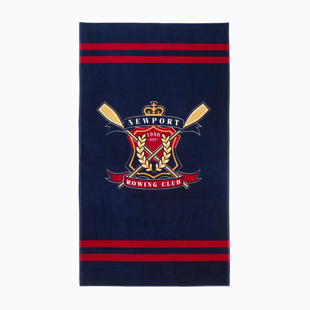 Rowing-club-beach-towel-utvald