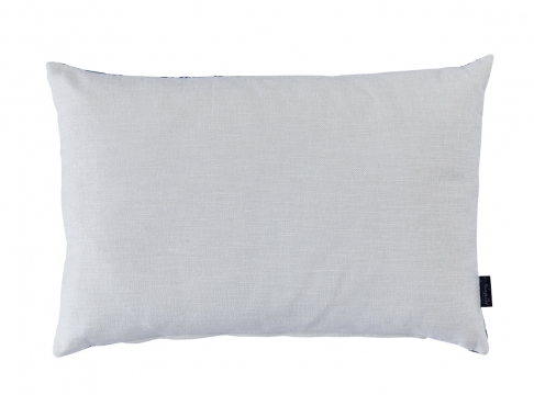 Joelle kuddfodral blå/vit 40x60 2