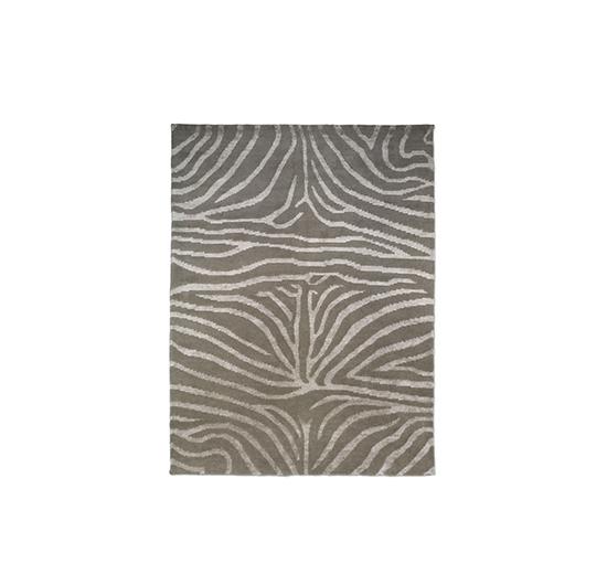 Listbild Zebra matta greige/lin 200x300