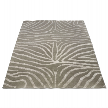 Zebra matta greige/lin 170x230 2