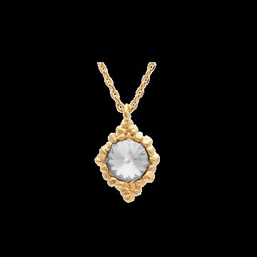 Miss Bonnie halsband guld crystal 1