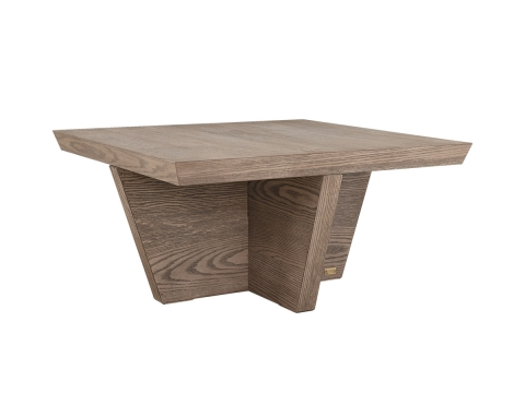 Trent soffbord kvadrat antikgrå 1