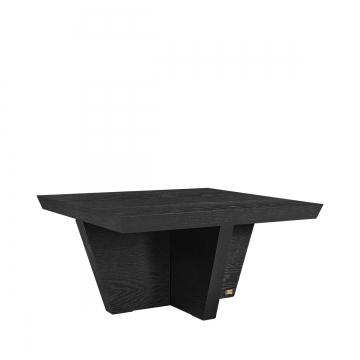 Trent soffbord kvadrat svart 3
