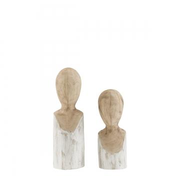 Mesha & Neru träfigurer natur 3
