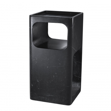 Adler sidobord marmor svart 2