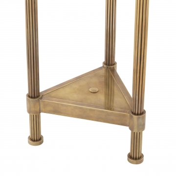 Floor Lamp Kon Tiki Triple vintage brass finish 5