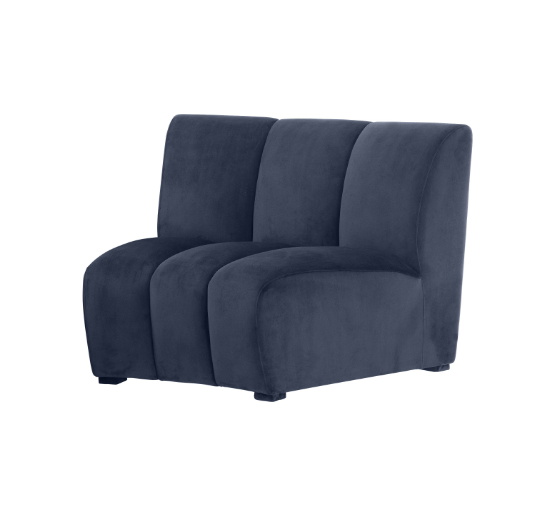 Listbild Lando soffa modul savona midnight blå