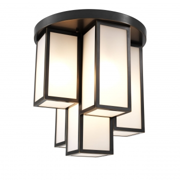 Ceiling Lamp Axel bronze finish 2