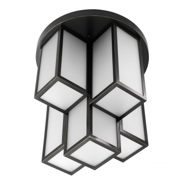 Ceiling Lamp Axel bronze finish 5