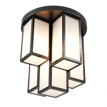 Ceiling Lamp Axel bronze finish 1