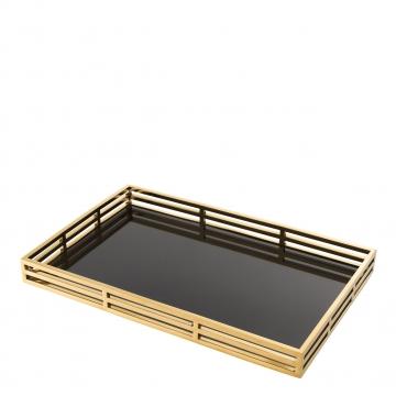 Giacomo bricka rektangel guld 2