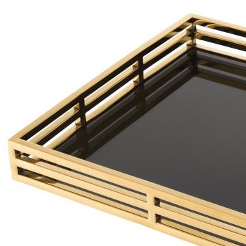 Giacomo bricka rektangel guld 3