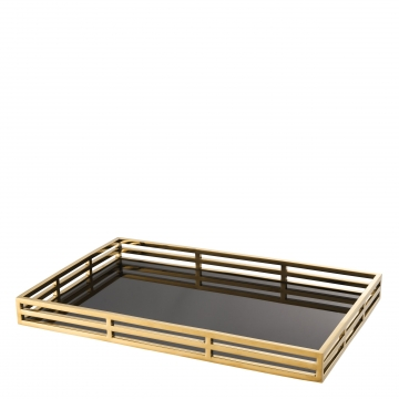 Giacomo bricka rektangel guld 1