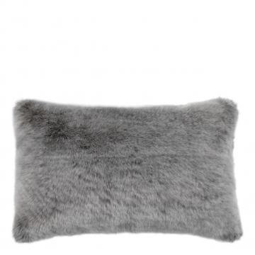 Alaska kuddfodral faux fur grå 40x60 1