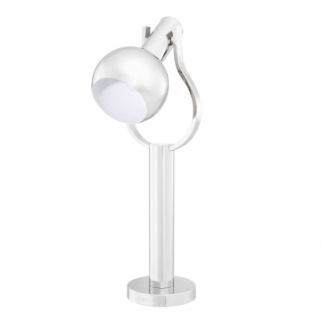 Jaques bordslampa nickel 3