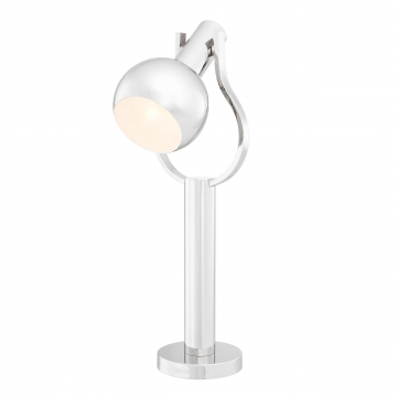 Jaques bordslampa nickel 1