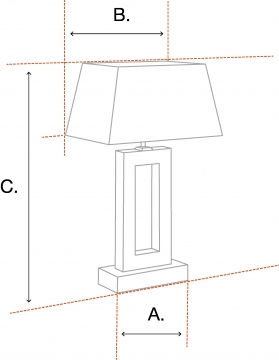 Jaques bordslampa nickel 5
