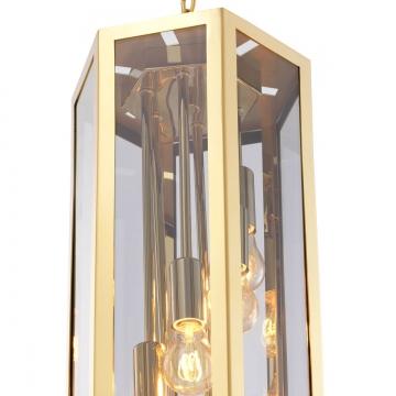 Rondoni taklampa guld 3