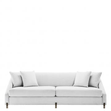 Candice soffa avalon vit 1