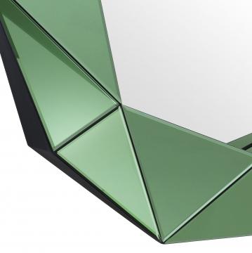 Del Ray spegel tredimensionell grön 3