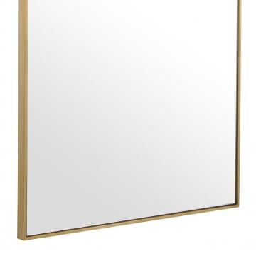 Redondo spegel borstad mässing rektangel 3